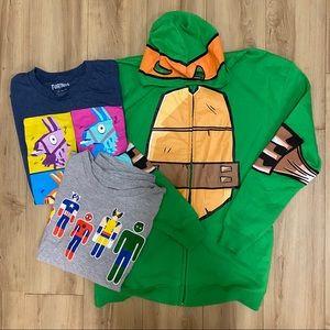 Kid's Hoodie & Shirts Bundle